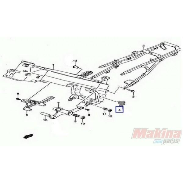 4358527G00 Cover Pivot Right Suzuki DL-650 V-Strom