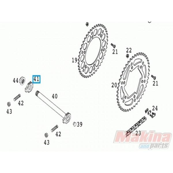 50310084000 Ρεγουλατόρος Αλυσίδας KTM EXC-SX '00-'14
