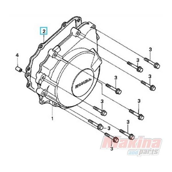 11392MV9670 Ignition Cover Gasket Honda CBF-600 '04-'07