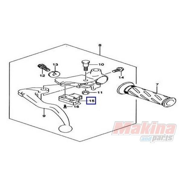 5756005A10 Switch Assy. Clutch Suzuki DL-650 V-Strom '10-'11