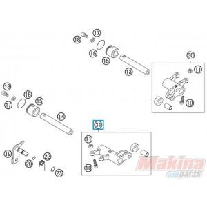 59036061144 Rocker Arm Exhaust Cpl. KTM EXC 4Stroke '03-'07