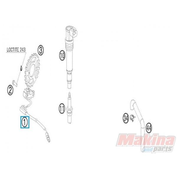 60039034100 Αισθητήρας Ανάφλεξης KTM LC8-950-990
