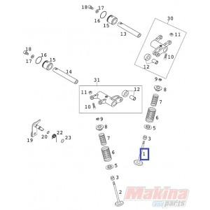 59036030000 Valve Intake KTM EXC-400-450-520-525