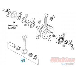 54830015244 Μπιέλα Σετ KTM EXC-250/300 '03-'14 SX-250 '03-'14