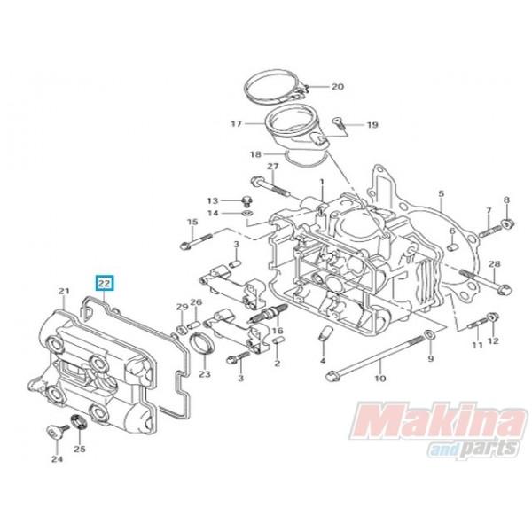 1117302F00 Gasket Cylinder Head Cover Suzuki DL-1000 V-Strom
