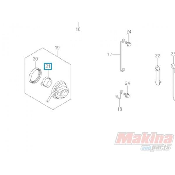 3498314G01 Γρανάζι Ατέρμονα Κοντέρ Suzuki AN-250/400 Burgman