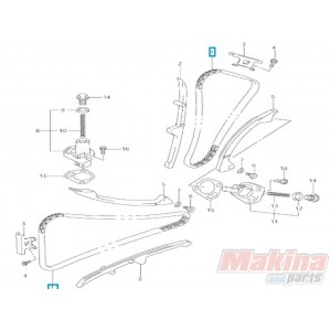 1276019F01 Camshaft Drive Chain Suzuki DL-650 V-Strom