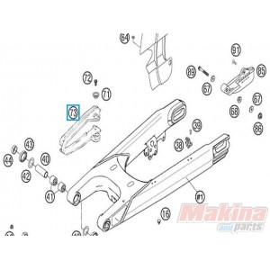 58307073000 Chain Sliding Guard KTM LC4 640