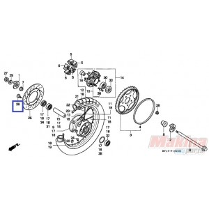 90105MK5010 Bolt,disk 8x22 Honda XR-CR-XRV-XLV