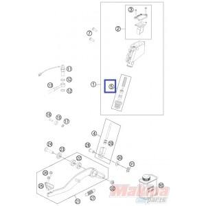 60013061100 Σετ Επισκευής Πίσω Τρόμπας Φρένου KTM