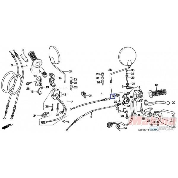 35330MK5003 Διακόπτης Συμπλέκτη Honda XL-1000V Varadero