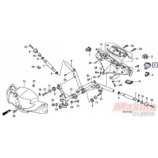35200KPH971 Winker Switch Honda ANF-125 Innova