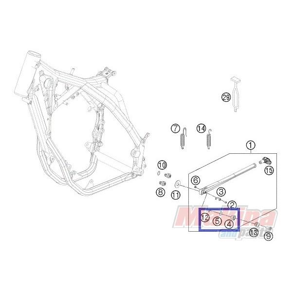 78003023081 Αποστάτης Πλάγιου Στάντ ΚΤΜ EXC '08-'18