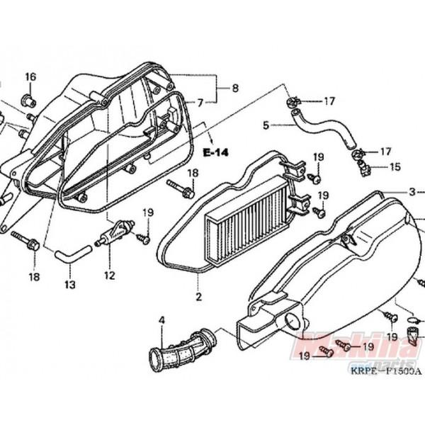17210KRP980 Honda SCV-100 Lead Air Filter
