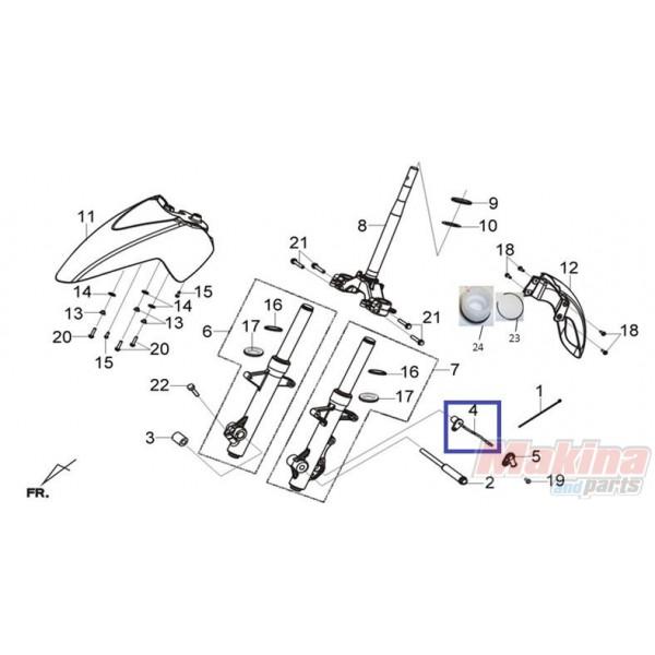 44800HMB000 Speedometer Sensor SYM Citycom-300i GTS-250/300