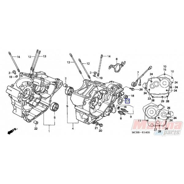 91204MG3003 Shaft Oil Seal Honda XL-600V-650V-700V Transalp