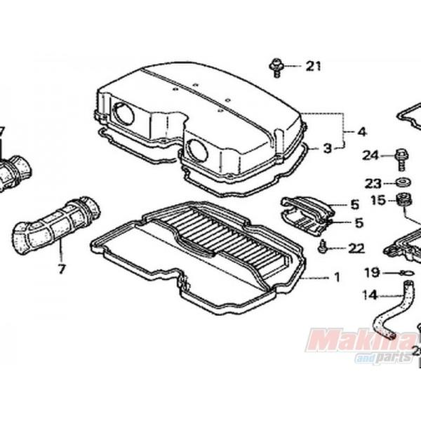 17210MW0000 Φίλτρο Αέρος Honda CBR-900RR
