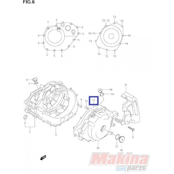 1148319F00 Φλάντζα Βολάν Suzuki DL-650 V-Strom