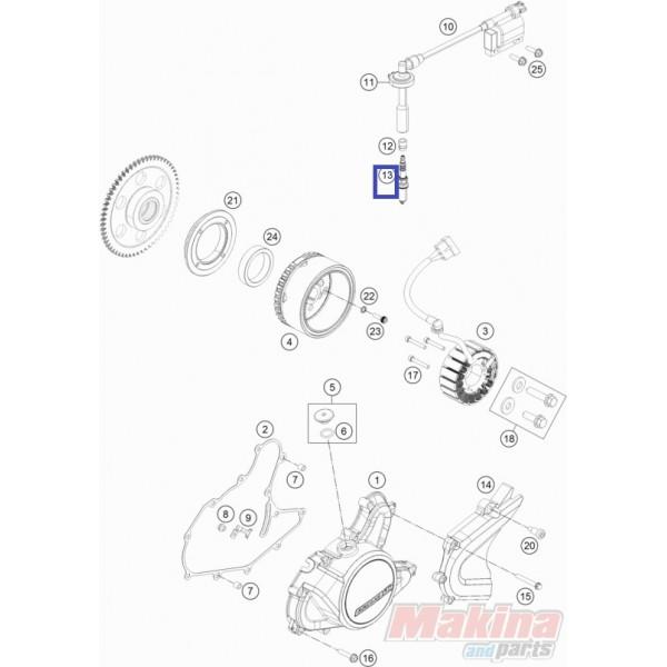 90139093100 Spark Plug KTM Duke 125/200/390 '11-'14