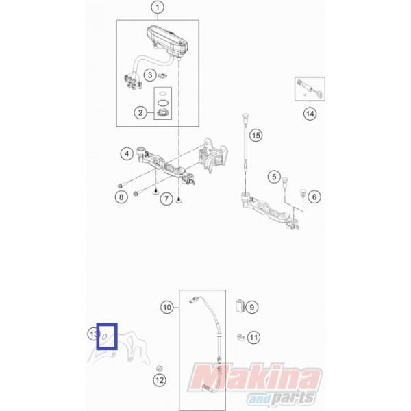 0471009104 Circlip Din0471-9x1 KTM EXC/EXC-F '03-'19