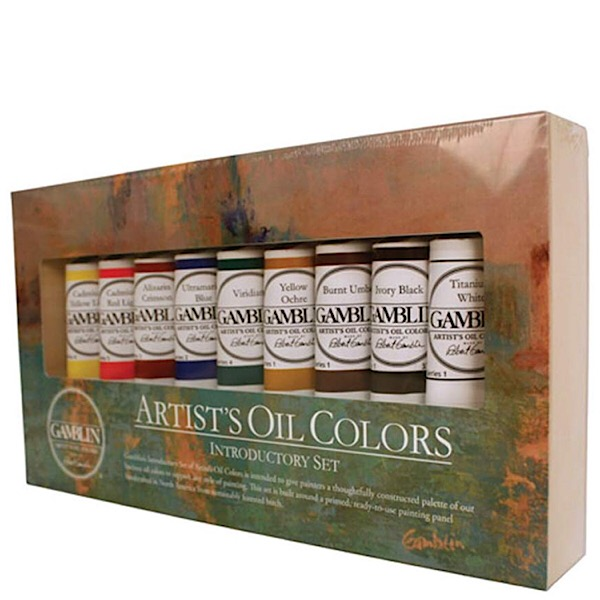 Gamblin Artist's Oil Colors Introductory Set of 9