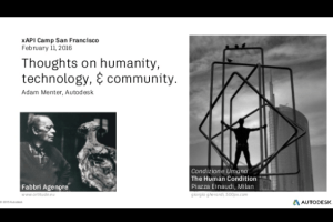 Thoughts on humanity, technology, and community by Adam Menter