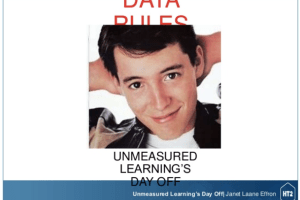 Data Rules: Unmeasured Learning's Day Off by Janet Laane Effron