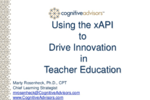 Driving Innovation in Teacher Education by Marty Rosenheck