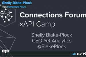 xAPI for Onboarding by Shelly Blake-Plock
