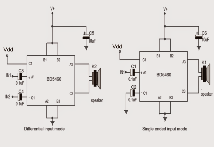 How to Make a 3.7 V Class-D Speaker Amplifier for
