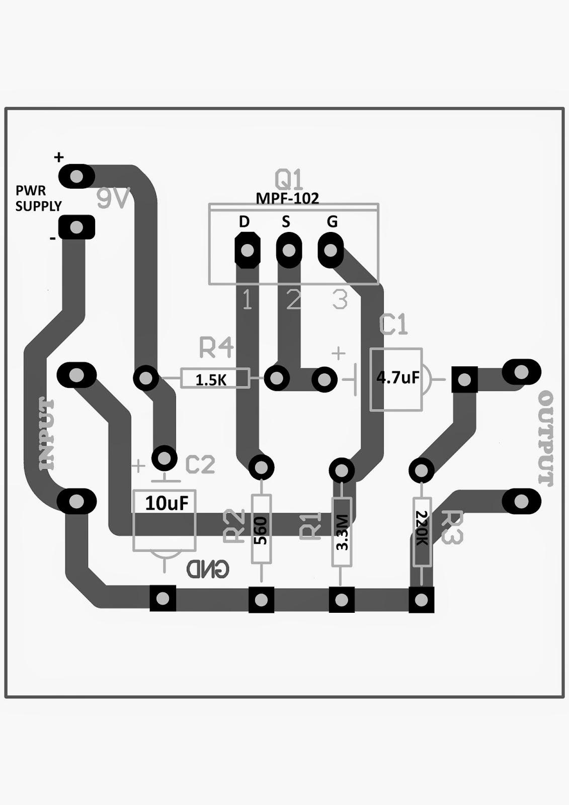 How To Build A Diy Contact Mic Circuit