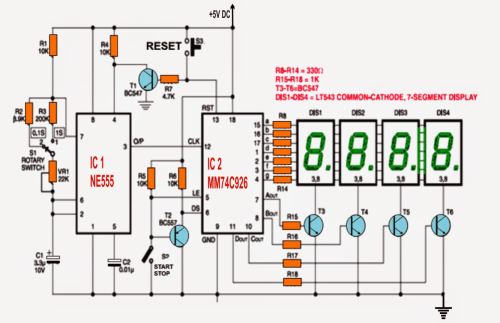 small resolution of watch circuit diagram wiring diagram schematics circuit breaker diagram how to make a digital stop watch