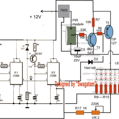 5 Watt Led Driver Circuit Diagram 2003 Nissan Altima Wiring How To Build A Energy Saving Automatic Light