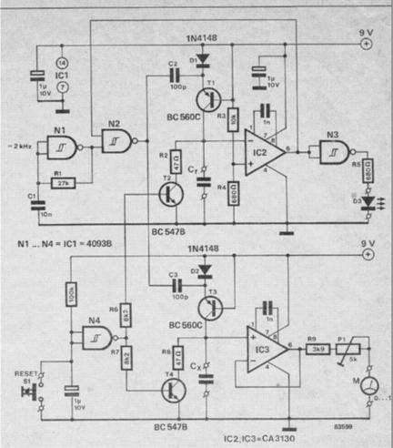 Simple Voltmeter Circuit Simple Breadboard Circuit Wiring
