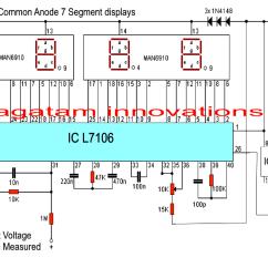 Voltmeter Wiring Diagram 2002 Pontiac Grand Am Gt Stereo Simple Digital Circuit