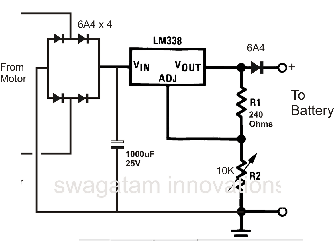 simple cellphone battery charger circuit