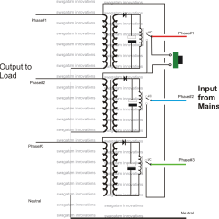 2 Phase Transformer Wiring Diagram 5 Way Rotary Switch Single Preventer Circuit