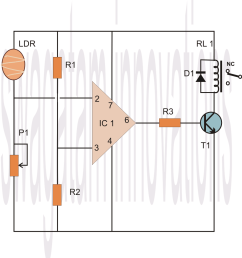 how to make a 741 opamp comparator circuit [ 1028 x 1134 Pixel ]