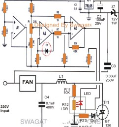 temperature controlled fan regulator circuit diagram 16 11automatic ceiling fan circuit rh makingcircuits com pc fan [ 1173 x 1600 Pixel ]