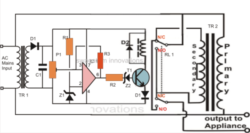 small resolution of 220v voltage stabilizer circuit diagram wiring diagram today simplest mains voltage stabilizer circuit 220v ac voltage