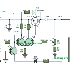 Battery Charge Controller Circuit Diagram Garden Solar Light Wiring Charger Using Transistors