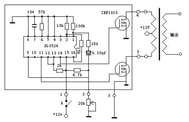 pwm circuit using tl494