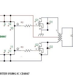 simple 100 watt inverter circuit [ 1600 x 724 Pixel ]
