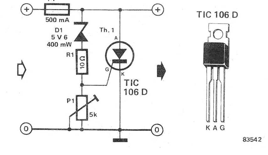 High Voltage Emergency Mains Cut-OFF Circuit
