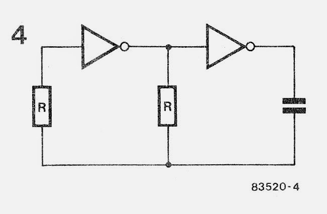 Making Delay Timers using NOT gates IC 4049