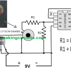 Light Sensitive Switch Circuit Diagram 2004 Jeep Wrangler Wiring Simple Infrared Thermopile Sensor Explained
