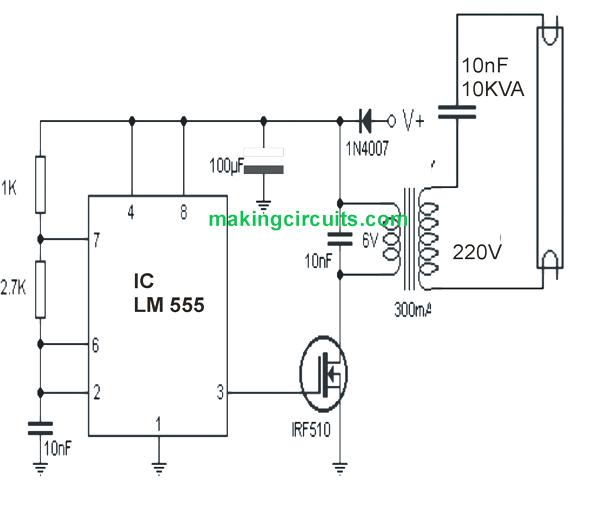 circuit of inverter