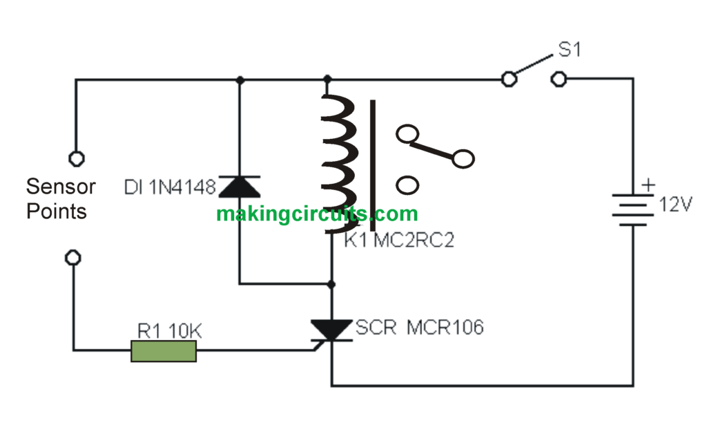single alarm circuit