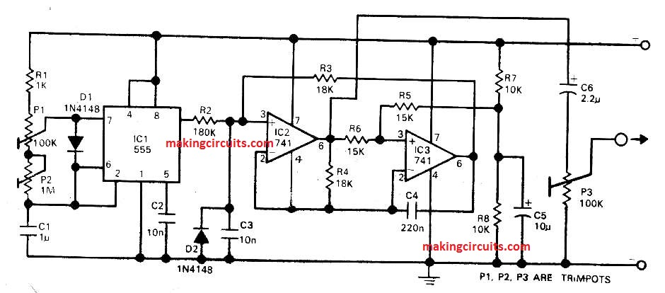 2 Simple Electronic Gong Circuits Explained