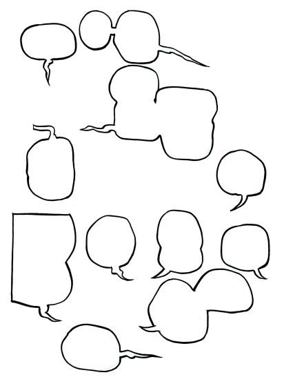 Word Balloons from Dream Life